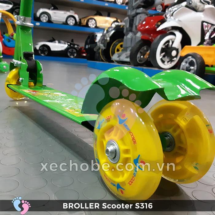 Xe trượt Scooter trẻ em Broller S316 10