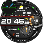 D 134 Digital Watch Face For WatchMaker Users