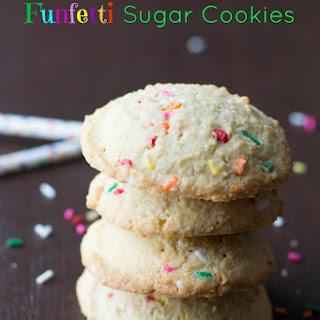 Gluten Free Funfetti Sugar Cookies
