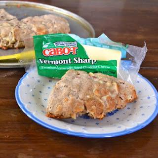 Apple Cheddar Gluten-Free Scones.