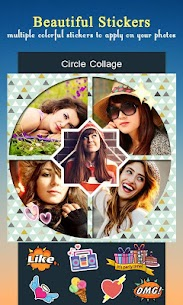 Circle Collage – Photo Collage Maker 4