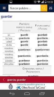 Diccionario RAE y ASALE (DLE) Screenshot