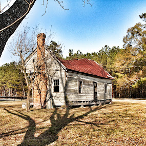 Still Standing by Debra Graham - Buildings & Architecture Decaying & Abandoned