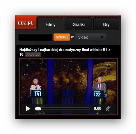 mobilna wersja strony cda.pl