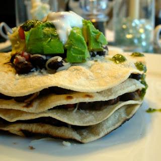 Black Bean Enchilada Stacks