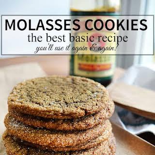 Molasses Cookie.