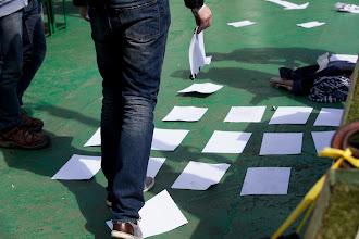 Photo: Paper level design workshop