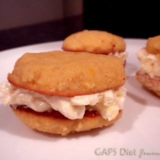 Orange Medallions Coconut Flour Cookies