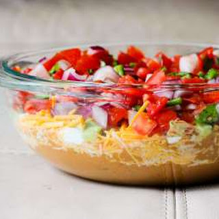 The Best Seven Layer Mexican Dip Appetizer Recipe