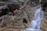 Над водопадами