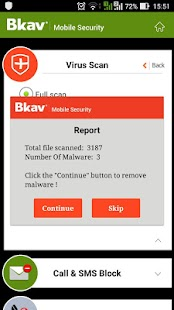 Bkav Security - Antivirus Free- screenshot thumbnail