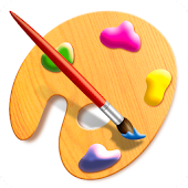 Painting and drawing: free coloring book game.