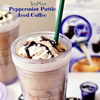 Peppermint Pattie Iced Coffee with International Delight