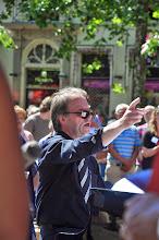 Photo: Tom Ginkel leidde het koor en het combo