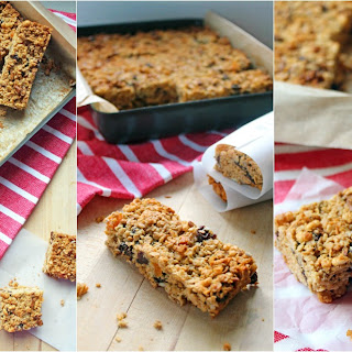 Peanut Butter Granola Bars with Honey