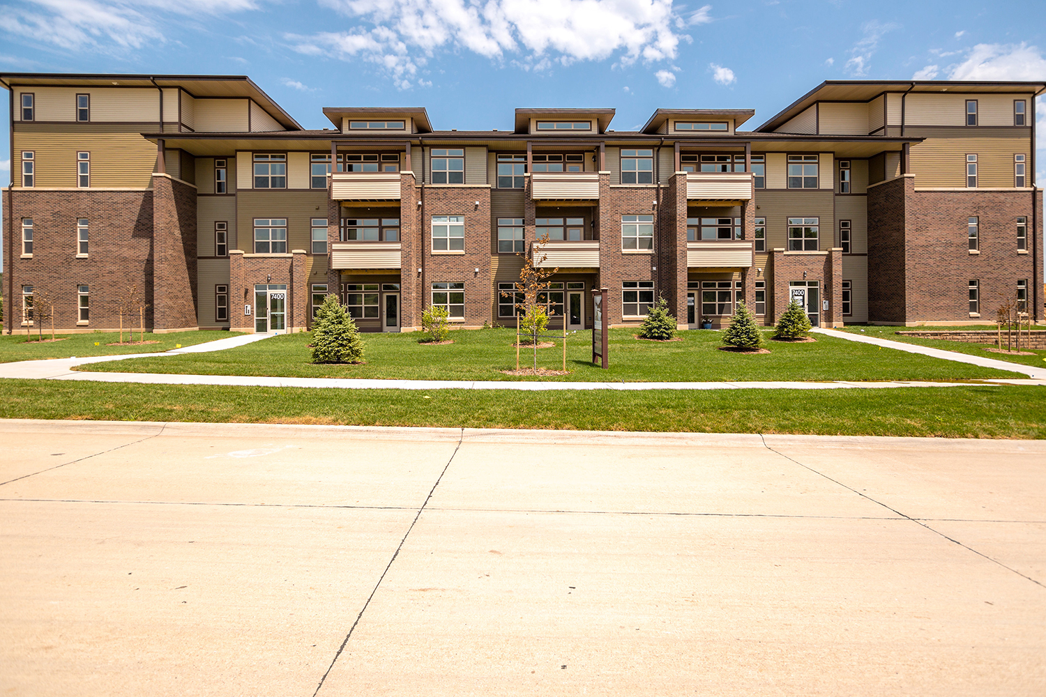 Brookside Apartments at Fallbrook in Lincoln, Nebraska