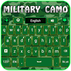 Military Camouflage Keyboard icon