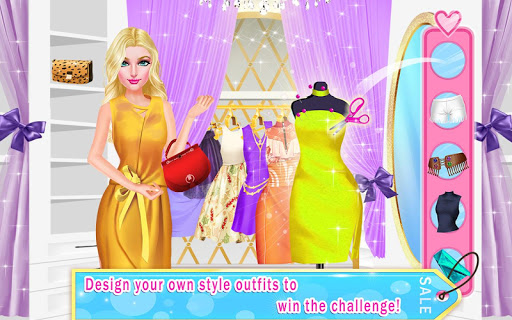 Blogger's $50 Outfit Challenge: Mall Girl Shopping 1.1 screenshots 3