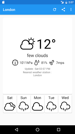 Localio天気アプリ