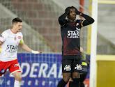 Fashion Sakala is onzeker voor de wedstrijd van KV Oostende tegen Cercle Brugge