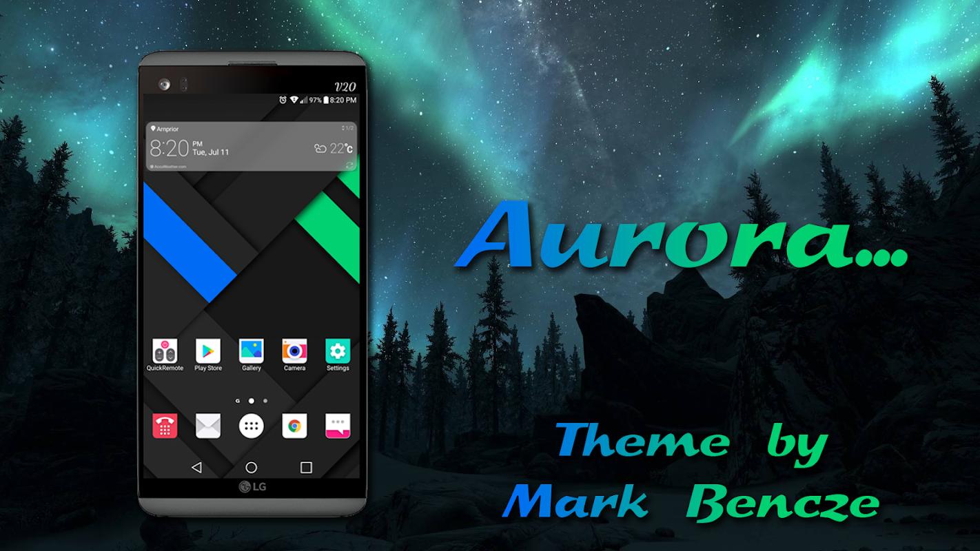 Aurora Theme for LG V20 LG G5 APK 1 0 0 Download - Free