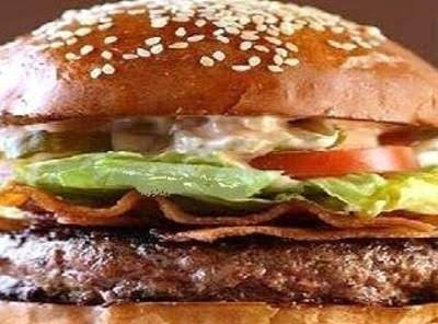 This Burger Has A Little Kick With The Pepper Jack Cheese. You Will Love The Secret Sauce, Some Call Fry Sauce With Relish, But The Most Unique Texture Adding Component Is The Potato Sticks And Onion Crisps! Enjoy!