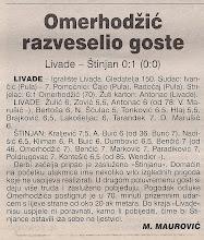 Photo: Glas Istre 23.04.2001. I ŽNL 19 kolo
