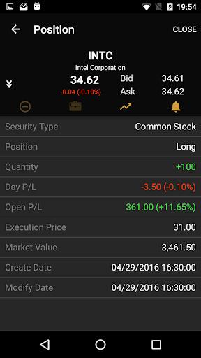 ETNA Trader Mobile screenshot 7