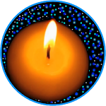 Night Candle : ambient relax Icon