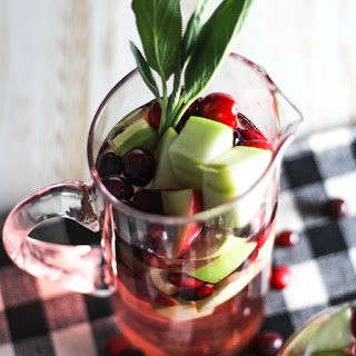 Simple Christmas Sangria.