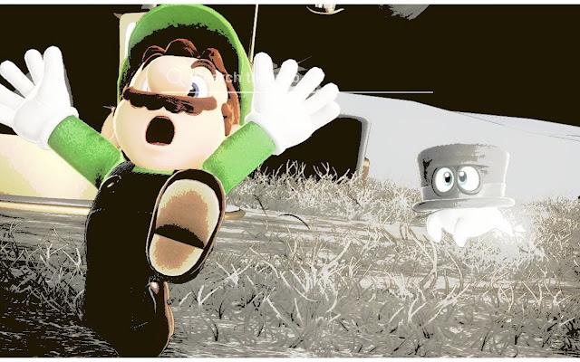 Luigi Mansion 3 Wallpaper Tab Theme