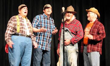 Photo: Rusty Pickups - Dan, Steve, Carl, Ward
