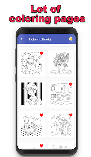 Coloring Pages Free - Coloring Book for Adults - screenshot