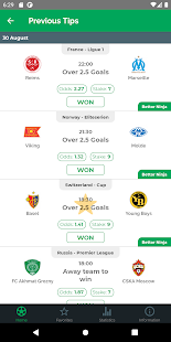 Download Wonanza - Sports Betting tips by best tipsters! For PC Windows and Mac apk screenshot 2
