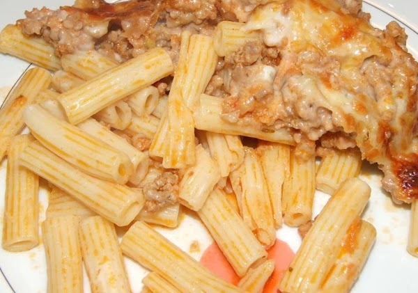 Macaroni Beef Gratin Recipe