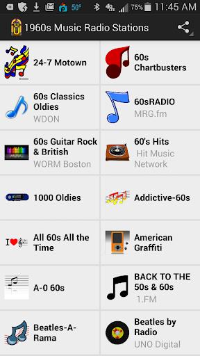 1960s Music Radio Stations
