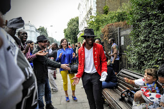 Photo: Laughter at Notting Hill Carnival 2014