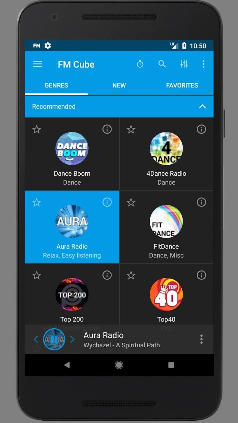 Radio - FM Cube Screenshot 6