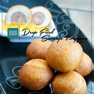 Deep Fried Sausage Poppers.