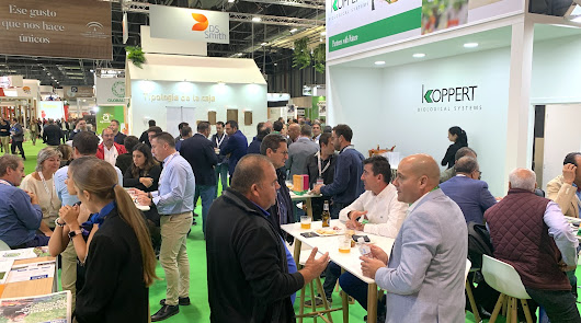 Productores de toda España se citan en Koppert como punto de encuentro