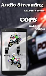 walkie talkie: virtual police radio - náhled