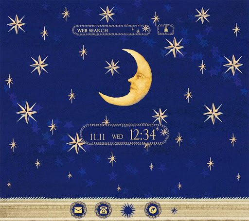 Moon and Stars wallpaper 1.0.0 Windows u7528 1