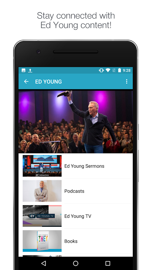 Fellowship Church with Pastor Ed Young- screenshot