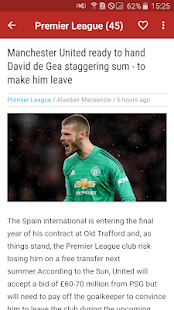 Manchester United News - Man United Daily News for PC-Windows 7,8,10 and Mac apk screenshot 2