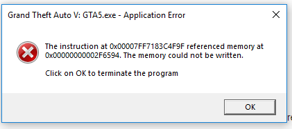 GTA V Launcher error