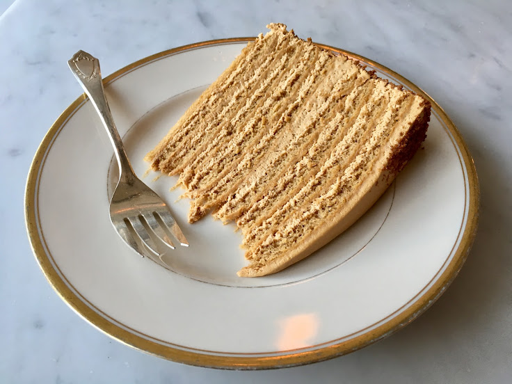 The Russian Honey Cake.
