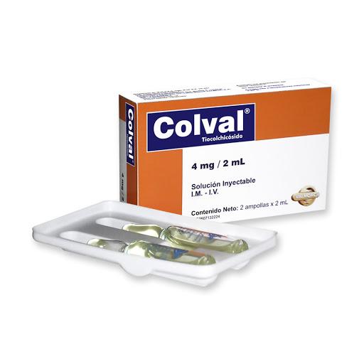 Tiocolchicosido Coval 4mg/2mL 2 Ampollas