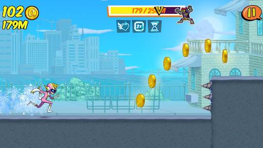 Ảnh màn chơi trong game Run Run Super V hack