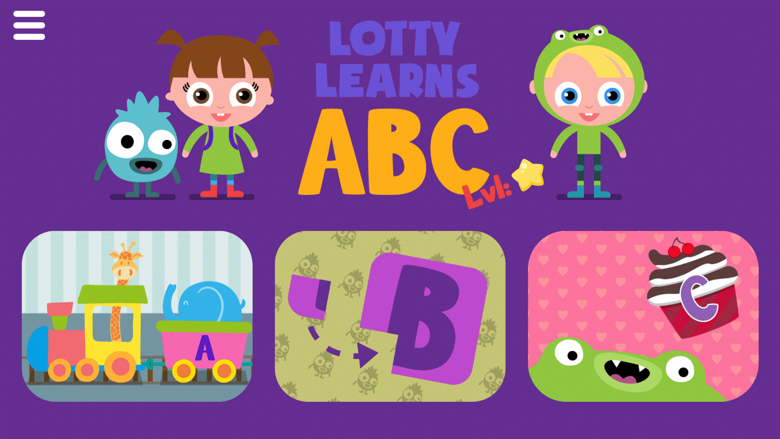 Lotty Learns ABC- screenshot