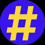 Hashtags Pro Icon